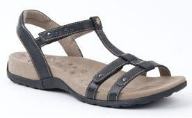 Arch Support Sandal Trophy Black, Size 6-11