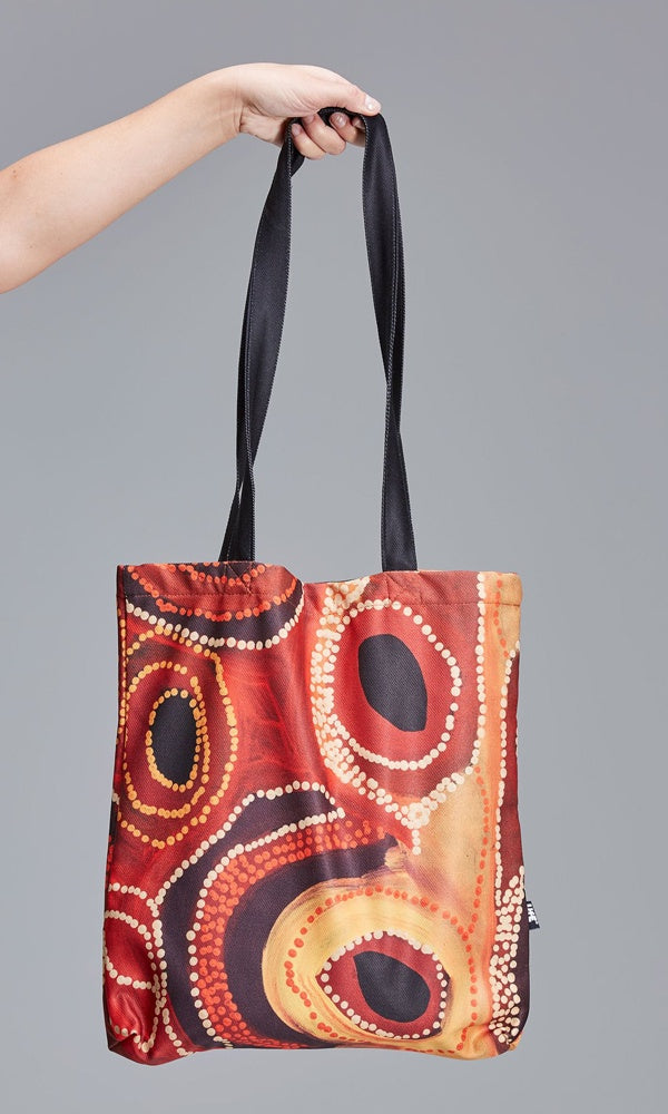 Aboriginal Art Shoulder Bag Kaalpa