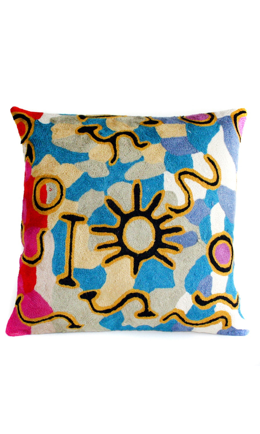 Aboriginal Art Cushion Cover by Willie Wilson (2)