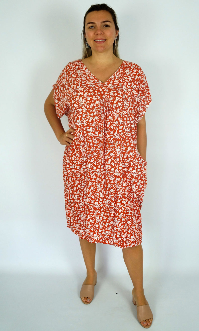 Rayon Dress Cruiser Microflower, More Colours