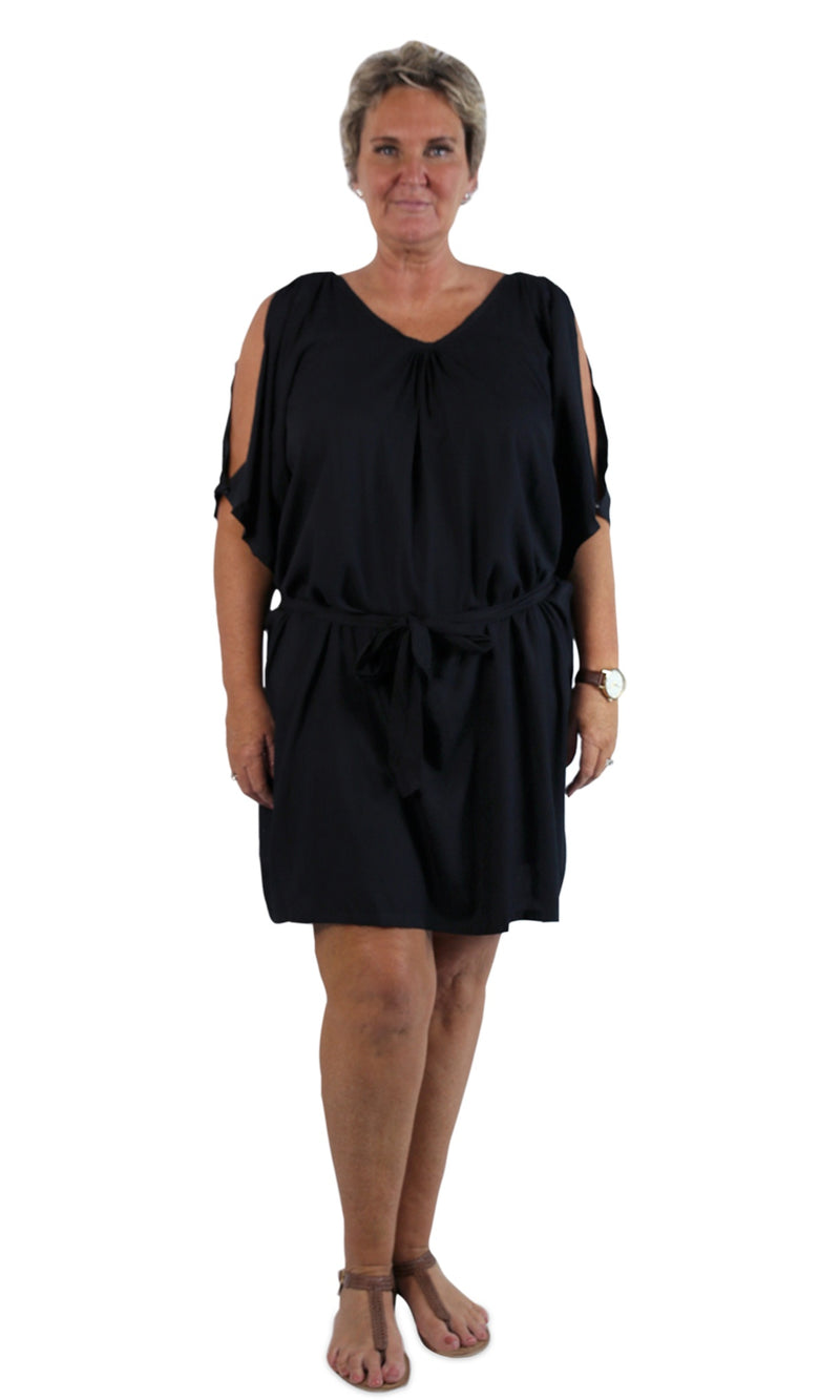 Rayon Dress Hayman Black