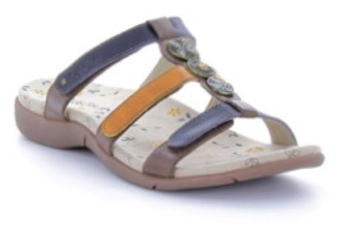 Arch Support Sandal Prize 2 Brown Multi, Sizes 7 - 10