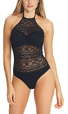 Sundance Black UW High Neck Cutout Suit, Pre-Order D Cup to FF Cup