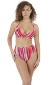 Bali Bay Summer Multi High Waist Bikini Brief, Pre-Order XS-2XL