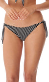 Beach Hut Black Rio Scarf Tie Brief, Pre-Order XS - XL