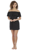 Jewel Cove Black Dress, Pre-Order S - XL