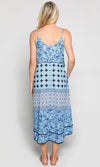 Cotton Dress Carnival Coastal