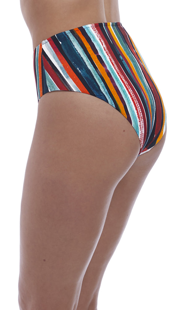 Bali Bay Multi High Waist / Leg Brief