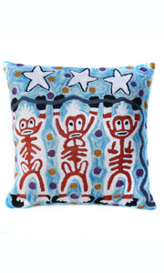 Aboriginal Art Cushion Cover by Cedric Varcoe