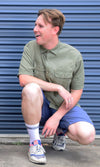 Bamboo Unisex Short Sleeve Dundee Shirt, More Colours