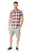 Hemp Cotton Shirt Plaid, More Colours