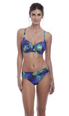 Coconut Grove Ink UW Lightly Padded Balcony Bikini Top, Pre-Order D Cup to H Cup