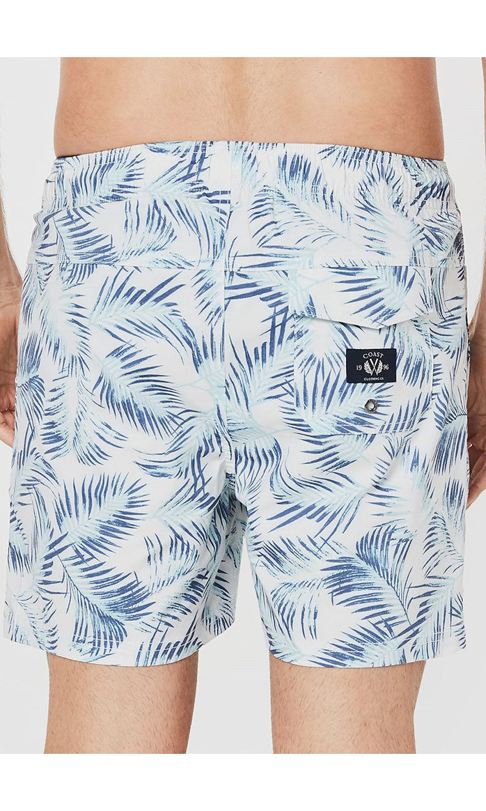 Boardshort Blue Fern