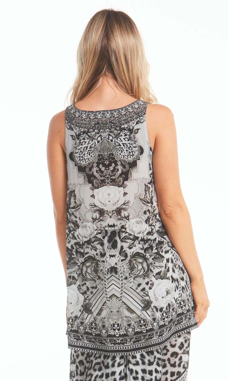 Silk Tank Top Wild At Heart