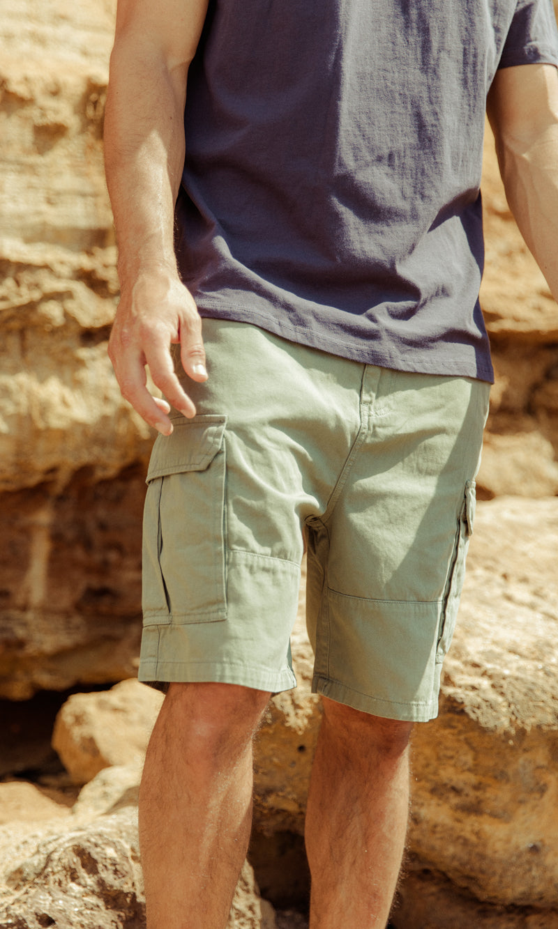 Cotton Short Cargo Andy, More Colours