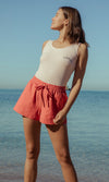 Cotton Rib Tank Sunny, More Colours