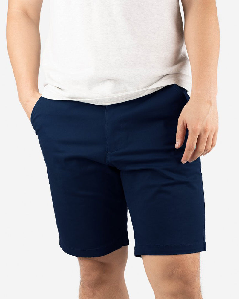 "Cotton Flex All Day Shorts 9"" , More Colours"