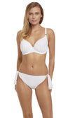 Ottawa  White UW Moulded Gathered Bikini Top, Pre-Order D Cup to G Cup