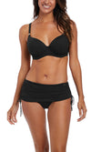 Ottawa Black Adjustable Skirted Brief, Pre-Order Size S - 2XL