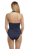 San Remo Ink UW Moulded Gathered Multistyle Tankini, Pre-Order D Cup to G Cup