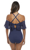 Marseille Twilight UW Bardot Suit, Pre-Order D Cup to G Cup