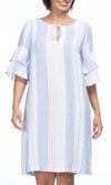 Linen Dress Stripe