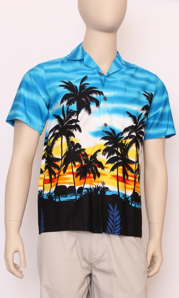 Hawaiian Shirt Genuine Sunrise Blue