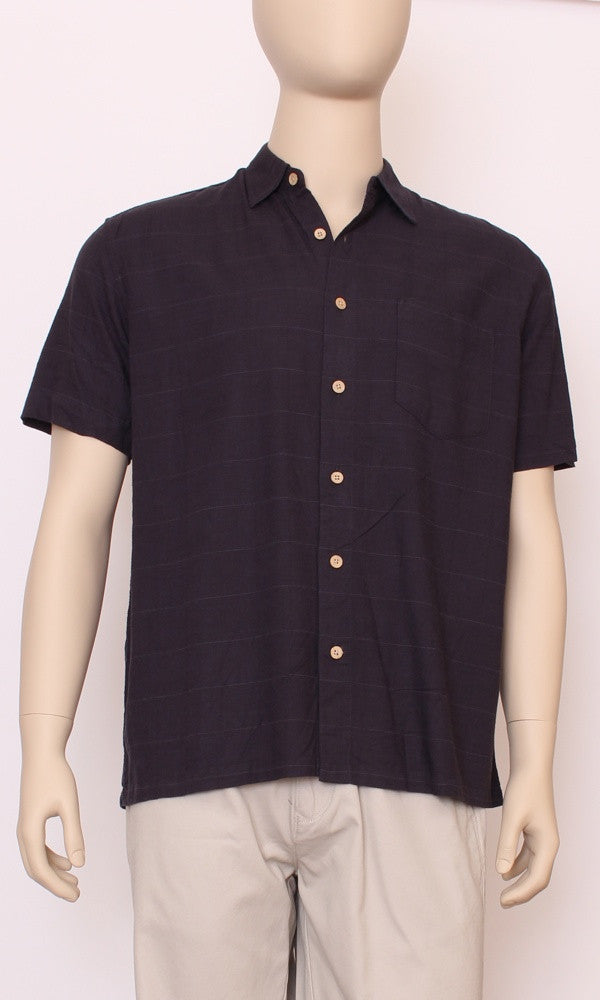 Bamboo Men's Shirt Navy