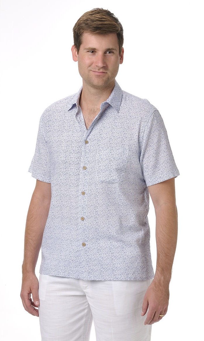 Bamboo Men's Shirt Motif