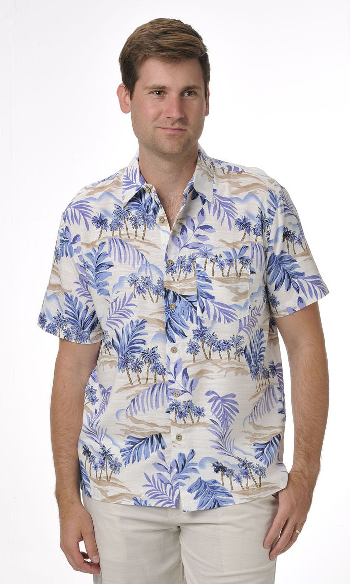 Bamboo Men's Shirt Oasis