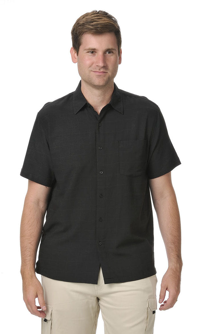 Bamboo Men's Shirt Black