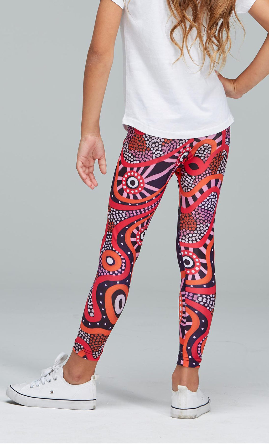 Aboriginal Art Kids Leggings Central Voice