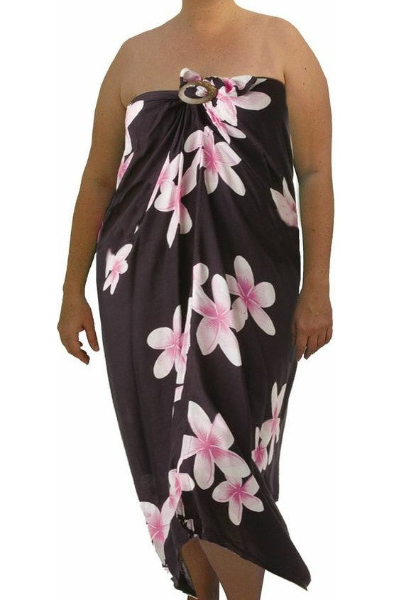 Sarong Tube Frangipani, More Colours, Size 8-24