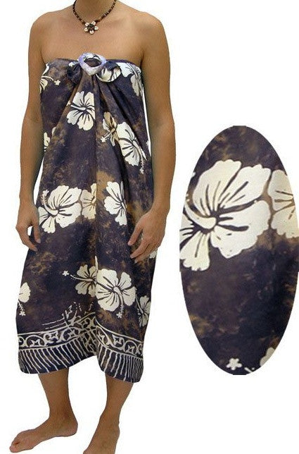 Sarong Tube Hibiscus, More Colours, Size 8-24