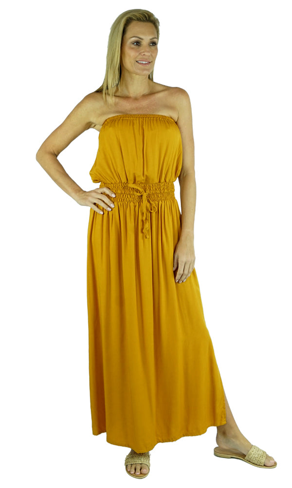 Rayon Dress Tube Plain, More Colours