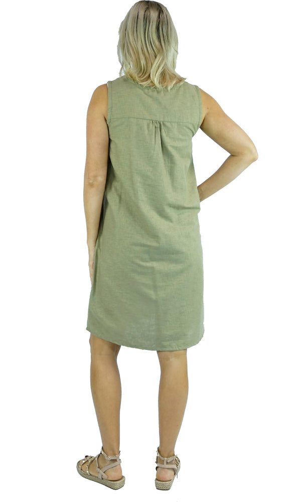 Cotton Dress A Line, More Colours