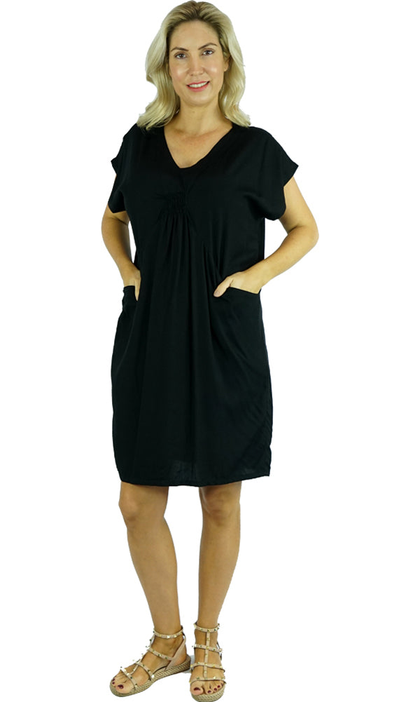 Rayon Dress Cruiser Plain, More Colours