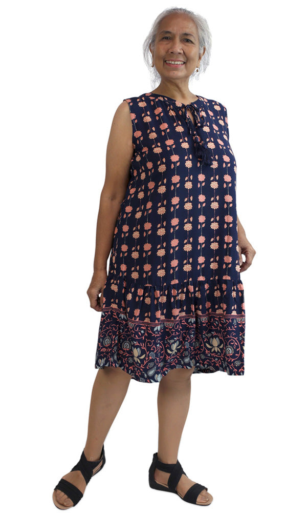 Rayon Dress Holiday, More Prints