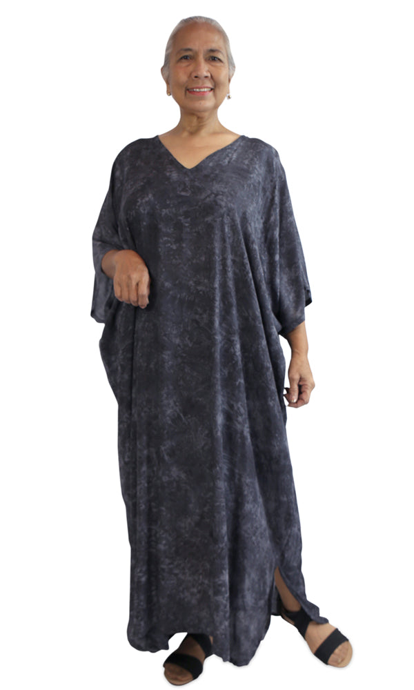 Rayon Kaftan Long Glacier, More Colours