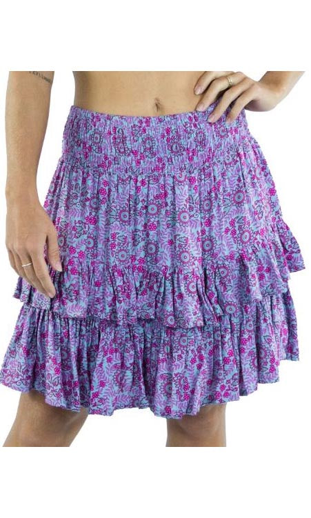 Rayon Skirt Havana Sunflower, More Colours