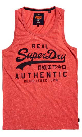 Superdry  Singlet Vintage Authentic Emboss Print, More Colours, Sizes S - 3XL