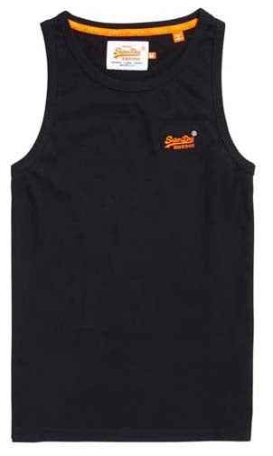 Singlet Orange Label Vintage Emb, More Colours