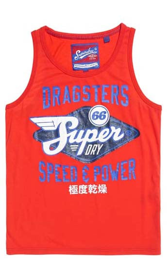 Superdry Singlet Reworked Classic Cali, More Colours, Sizes XS - 3XL