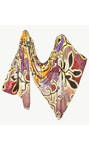 Viscose Summer Scarf Aboriginal Art by Paddy Stewart
