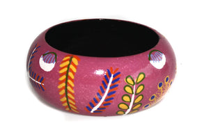 Aboriginal Art Bangle by Rosie Ross