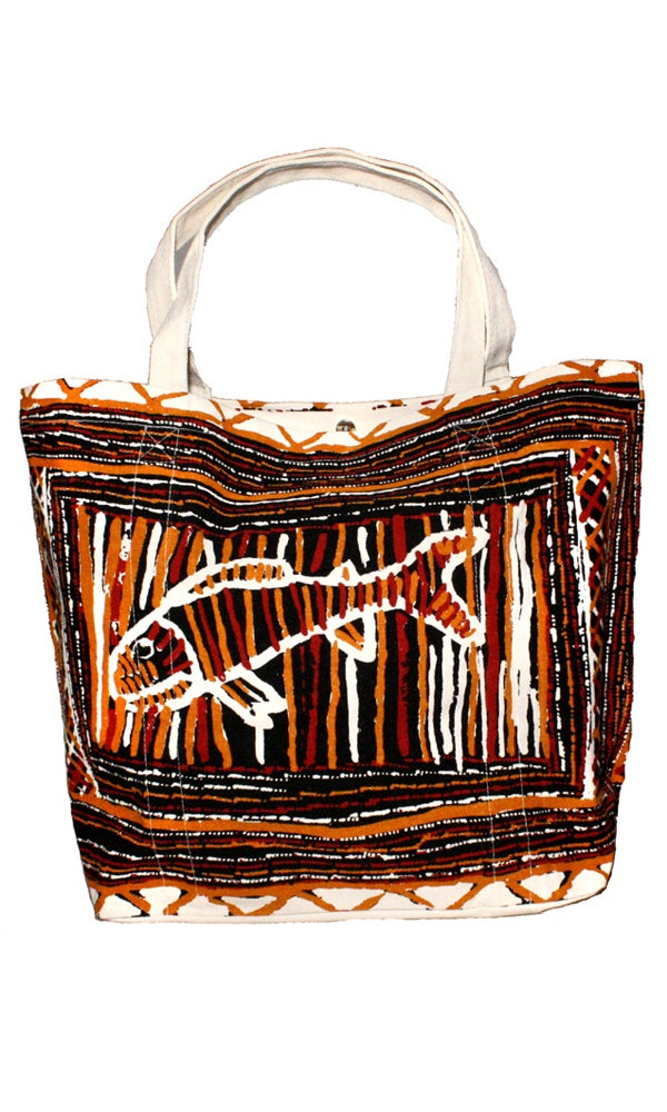 Canvas Big Tote Bag by Jane Margaret Tipuamantumirri