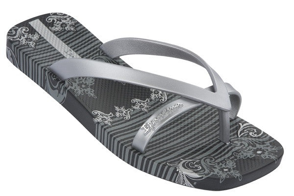 Ipanema Kids Gecco Black Silver, Sizes 9 - 13