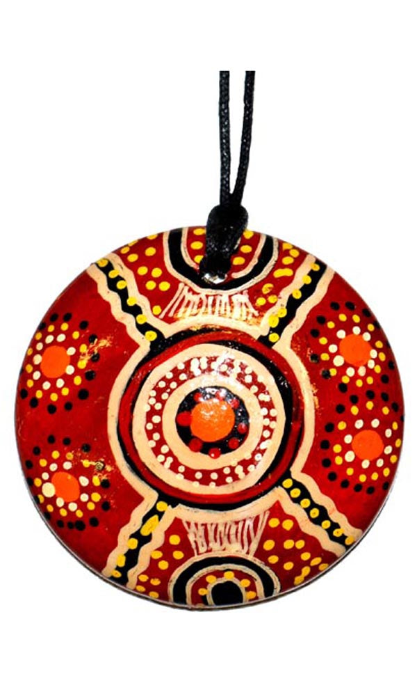 Aboriginal Art Pendant by Jane Oliver (2)