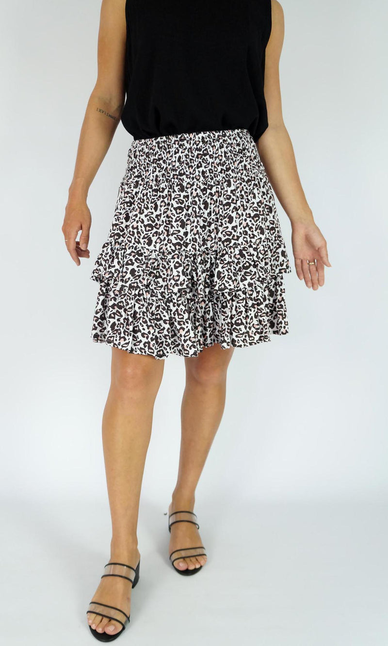 Rayon Skirt Havana  Tanzania, More Colours