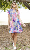 Cotton Dress Freddie Multi